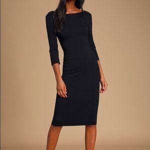 NWOT Lulu's Little Black Dress